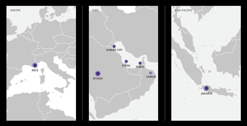 datacenter map
